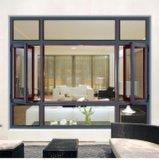 Populäres Puder-beschichtendes weißes Flügelfenster-Aluminiumlegierung-Fenster