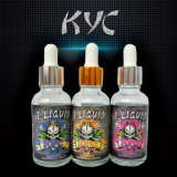 KycのEタバコのためのベストセラーの頭骨シリーズLiptonのミルクの茶E液体