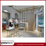 Diseño interior de la tienda de la ropa interior de la manera con los estantes de exhibición elegantes para los sujetadores de la fábrica