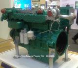 600HP 1500rpm Yuchaiの海洋のディーゼル機関の漁船モーター