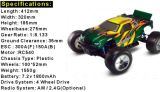 2015 molto poco costoso, Hsp94124 automobile di 1:10 RC Truggy