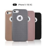 Mooie TPU+PC 2 in 1 Schokbestendige Mobile Phone Case voor iPhone 5