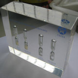 Hotel Decoration Business Gift를 위한 추상적인 Clear Resin Crafts