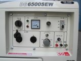 6.5kw/186f che saldano generatore diesel (DG6500SEW), raffreddato ad aria e silenzioso