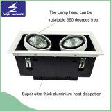 1*10W luz de la parrilla de la empresa 85-265V LED