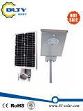 Integrierte alle in einem im Freien LED-Solarstraßenlaterne10W