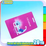 Cartão de Tag chave personalizado HUAYUAN da bagagem da aviação do PVC da impressão