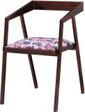 鉄企業の工場Usine錆ついた様式レトロ型の金属の椅子