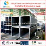 Cuadrado galvanizado sumergido caliente del tratamiento superficial y sección hueco rectangular