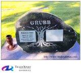 Pierre tombale différente de modèle de granit en pierre normal Polished, pierre tombale