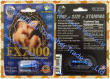 Píldora herbaria de la ampliación del sexo del reforzador masculino máximo triple superior de Fx 7000