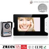 Телефон двери видео- дверного звонока видео- с кнопка