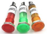 Yellow rosso Blue Green Neonled Indicator Lamp 220V (XD10-1)
