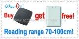 programa de lectura del rango largo RFID del programa de lectura los 70-100cm de la tarjeta inteligente del control de acceso de 125kHz Wiegand Rfic para el sistema de seguridad del embalaje