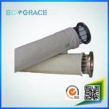 Filtro a sacco acrilico trattato del collettore di polveri di fusione 500GSM 550GSM