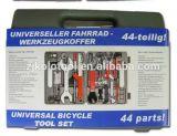 Venta caliente de 44 PCS en nosotros conjunto de herramienta de la reparación de la bicicleta para la bici