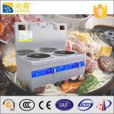 Chaudière à eau chaude commerciale d'acier inoxydable