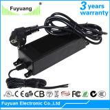 Carga 36V 3A de la batería de ion de litio para la bici eléctrica