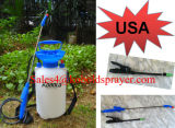 pulvérisateur de compactage de 1.5gallon 5litre Capacityhand, pulvérisateur en plastique de pompe