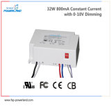 32W 800mA Constant Dimmable Current Driver de LED 5 ans de garantie