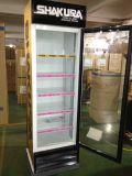 Bildschirmanzeige-Kühlvorrichtung des Vierecks-650liter für Getränk im bequemen System