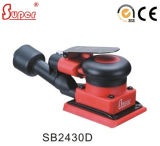 Non Vacuum 3``X4`` Square Air Sander with 3mm Orbit