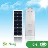 Réverbère solaire lumineux élevé du rendement 20W tout dans un