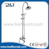 Insieme classico stabilito dell'acquazzone del bagno di disegno dell'acquazzone adatto sanitario del bagno