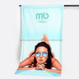 SGSによって証明されるカスタム反応印刷されたビーチタオル、優秀な吸水