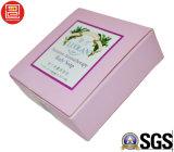 Cadre de papier d'impression offset à extrémité élevé, boîte à cartes de papier de Foadable empaquetant, boîte-cadeau estampée