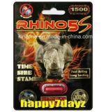 2016 píldoras masculinas del sexo del realce del funcionamiento del rinoceronte X caliente Secual de la venta