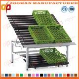 Metallische Obst- und GemüseBildschirmanzeige-Regal-Zahnstange für Supermaket Zhv36