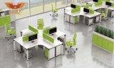 Mobília de escritório de madeira moderna da estação de trabalho da divisória do escritório (H50-0203)