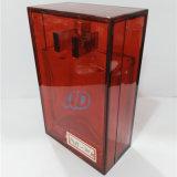 Decorazioni rosse 100ml dell'incrostazione della bottiglia di vetro del profumo Ad-P439