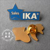 Emblema Shaped do metal da sapata, Pin do Lapel (GZHY-BADGE-028)