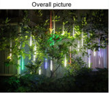 8개의 PCS/Set LEDs 강설 유성 비 빛