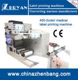 Máquina de impressão estreita de Flexo do papel de rolo da correia fotorreceptora de 2 cores