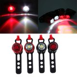 Mini Quick Release USB Rechargeable LED Bicicleta Bicicleta Front Rear Tail Side Light