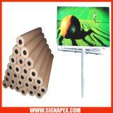 Frontlit PVC flexible de inyección de tinta
