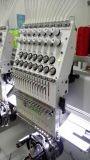 Zwei Kopf computergesteuerter Schutzkappen-Stickerei-Maschinen-Japan-Stickerei-Maschinen-Preis