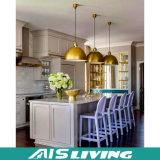 Estilo moderno mobília elevada personalizada do gabinete de cozinha do lustro do MDF (AIS-K133)