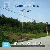 luz de rua solar da bateria de lítio 30W de 8m