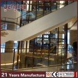 Balaustrada de vidrio templado con ISO9001 (DMS-B21201)
