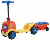 Езда малышей на автомобиле с резцовой коробка