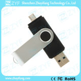 USB de giro preto de 32GB OTG para os telefones móveis Android (ZYF1624)
