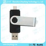 USB girante nero di 32GB OTG per i telefoni mobili Android (ZYF1624)