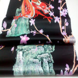 ткань дома одежды сатинировки 100%Polyester напечатанная тканьем