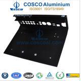 Panel Frontal Negro anodizado de aluminio para audio