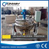 Caldera industrial del Brew de la chaqueta del vapor de la caldera de la chaqueta de Kqg que inclina el evaporador