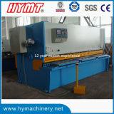 QC11Y-6X4000 유압 단두대 깎는 기계장치 & 강철 플레이트 절단 기계장치